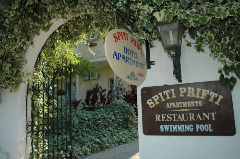 Appartementen Spiti Prifti - Gouvia - Corfu